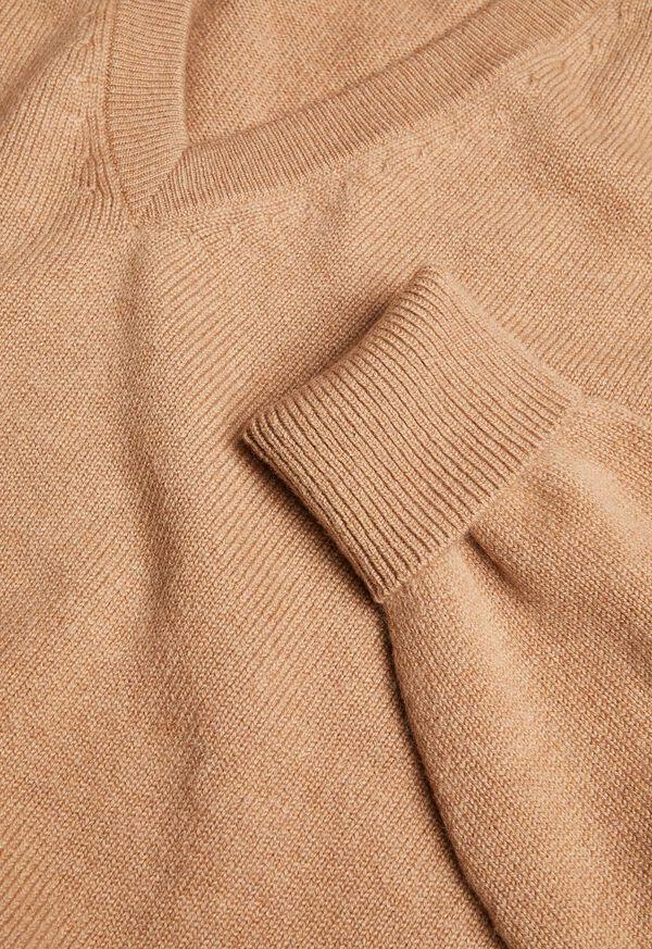 Cashmere V-Neck Sweater, image 3