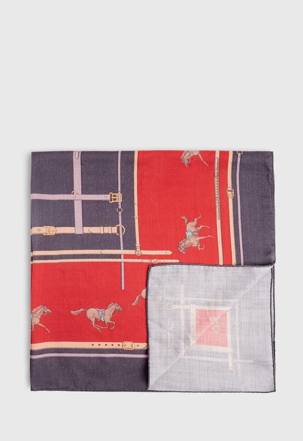 Racing Horse Scarf, image 1
