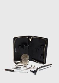 Deerskin Leather Travel Shaving Kit, thumbnail 3