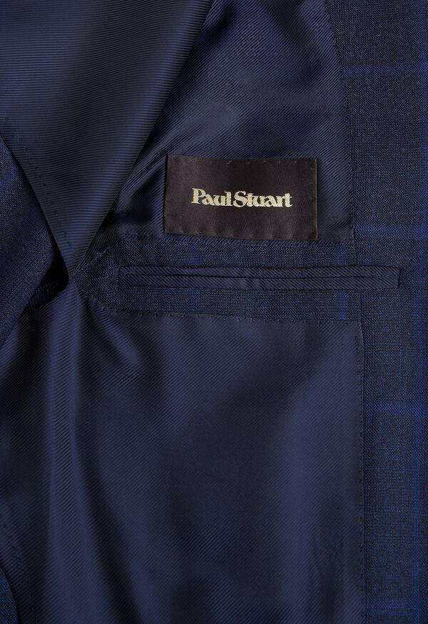 Blue Plaid Suit, image 4