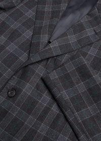 Grey Plaid Wool Suit, thumbnail 3