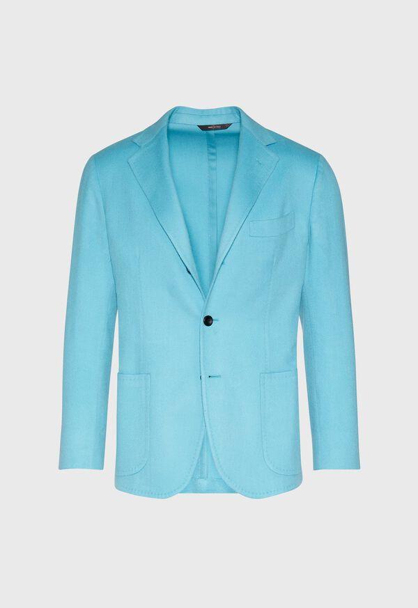 Light Blue Cashmere Soft Jacket