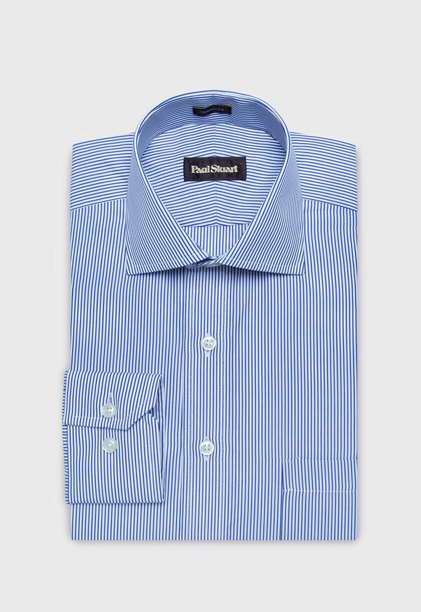 Cotton Bengal Stripe Dress Shirt, image 1