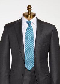 Mini Paisley Silk Tie, thumbnail 2
