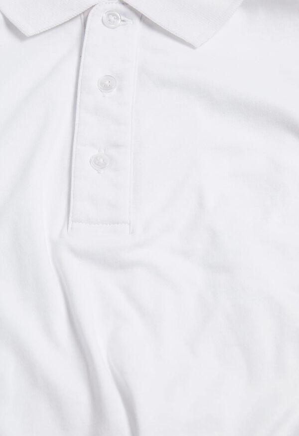Pima Cotton Interlock Polo, image 9