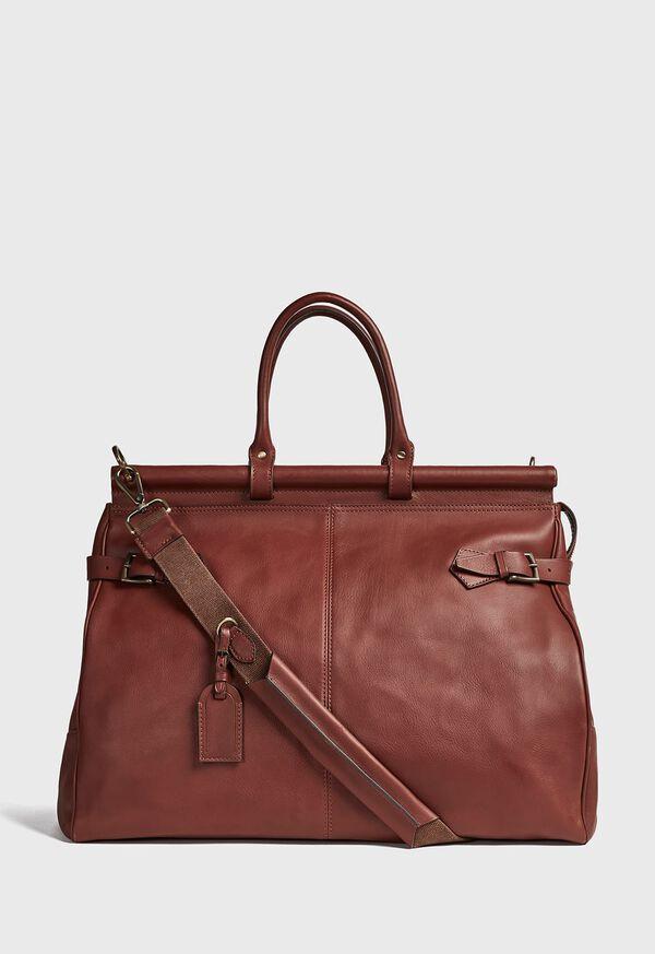 Bridle Leather Carpet Bag, image 3