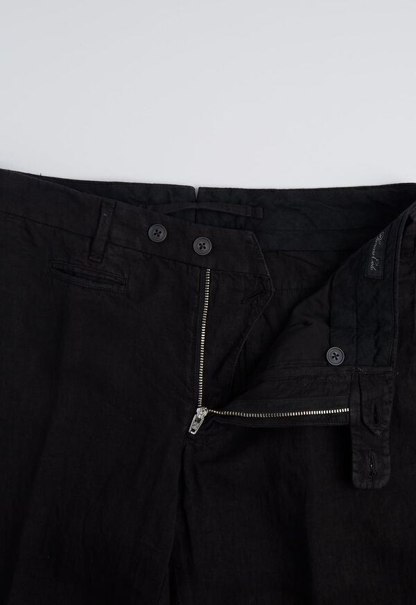 Linen Plain Front Pant, image 2