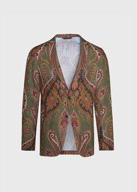 Paisley Print Soft Jacket, thumbnail 1