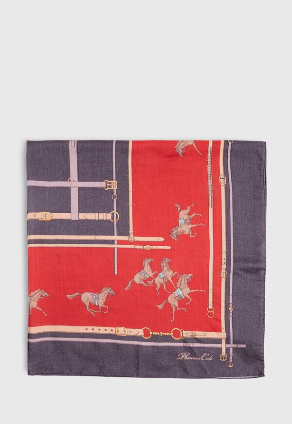 Racing Horse Scarf, image 2