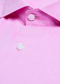 Cotton Chambray Sport Shirt, thumbnail 2