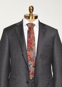 Paisley Printed Tie, thumbnail 2