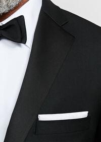 Black Italian Wool Tuxedo, thumbnail 3