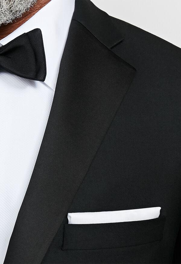 Black Italian Wool Tuxedo, image 3