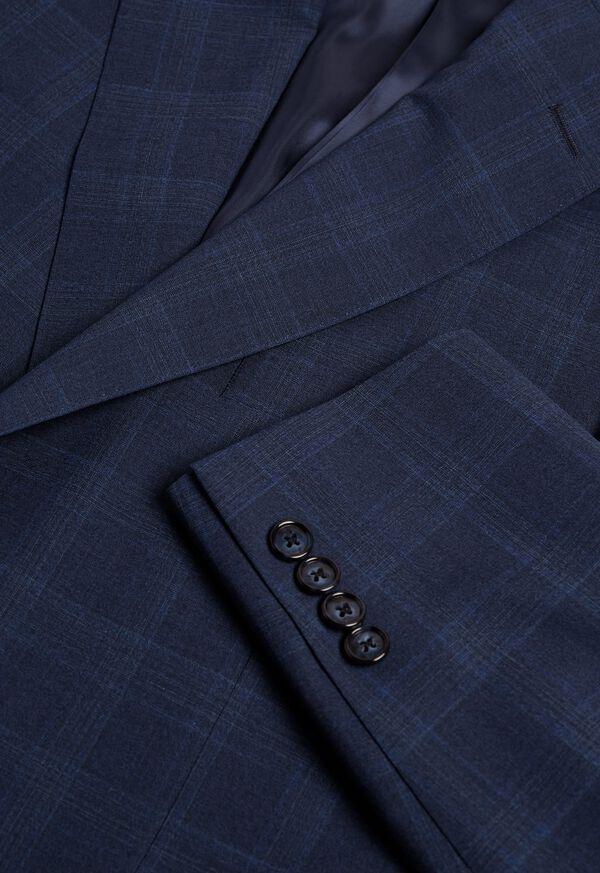 Fainted Deco Pane Super 150s Wool Suit, image 2