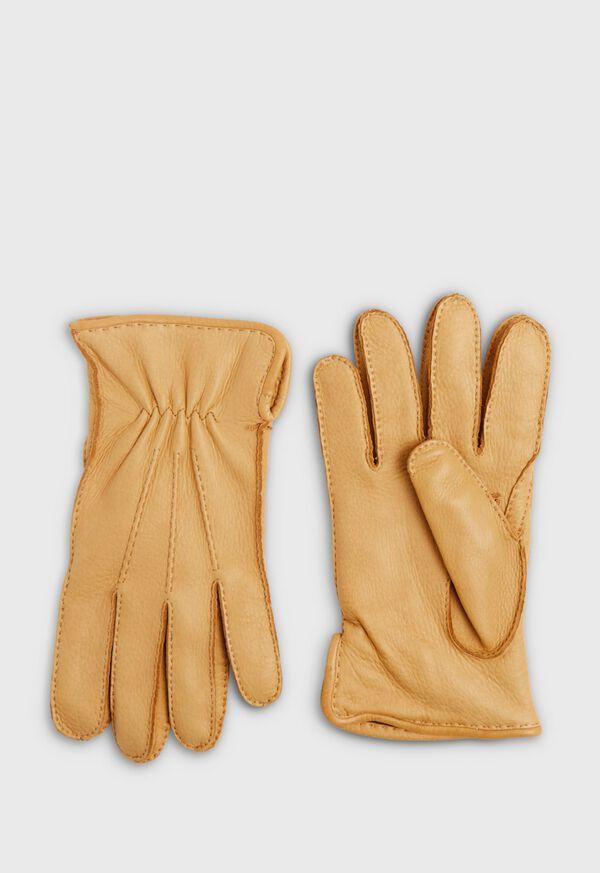 Deerskin Cashmere Lining Gloves, image 1