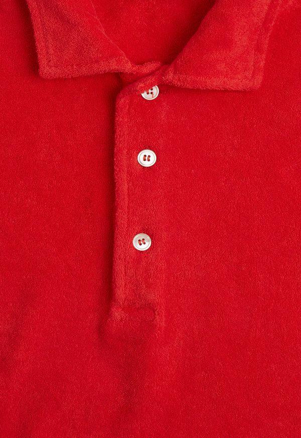Terry Cloth Polo Shirt, image 2