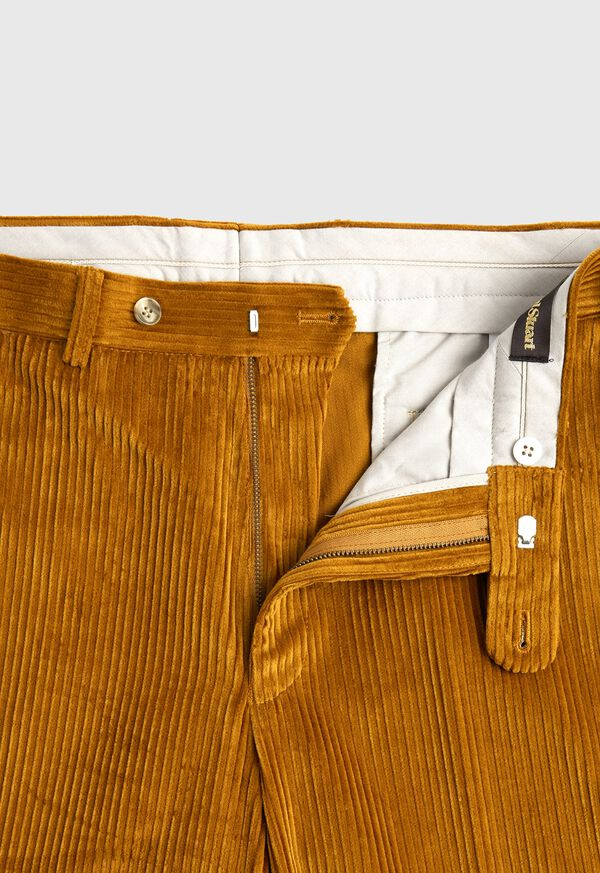 Gold Wide Wale Pant, image 2