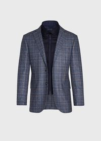 Plaid Travel Jacket and Built-in Vest, thumbnail 5