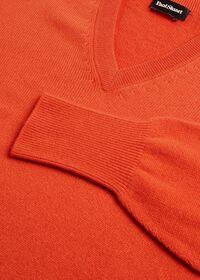 Scottish Cashmere V-Neck Sweater, thumbnail 47