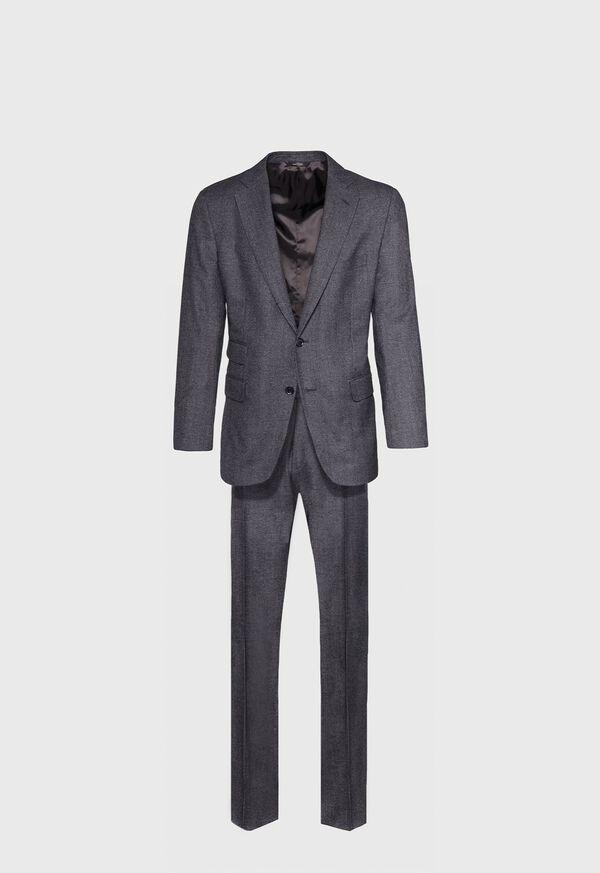 Grey Micro Weave Super 180s Wool Suit, image 1