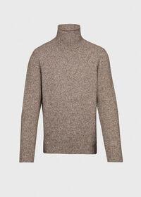 Melange Turtleneck Sweater, thumbnail 1