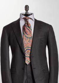 Silk Floral Paisley Tie, thumbnail 2