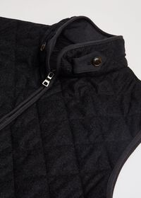 Merino Wool Flannel Quilted Vest, thumbnail 2