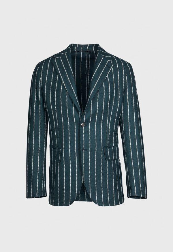 Stripe Wool Jacket, image 1