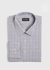 Cotton Check Dress Shirt, thumbnail 1