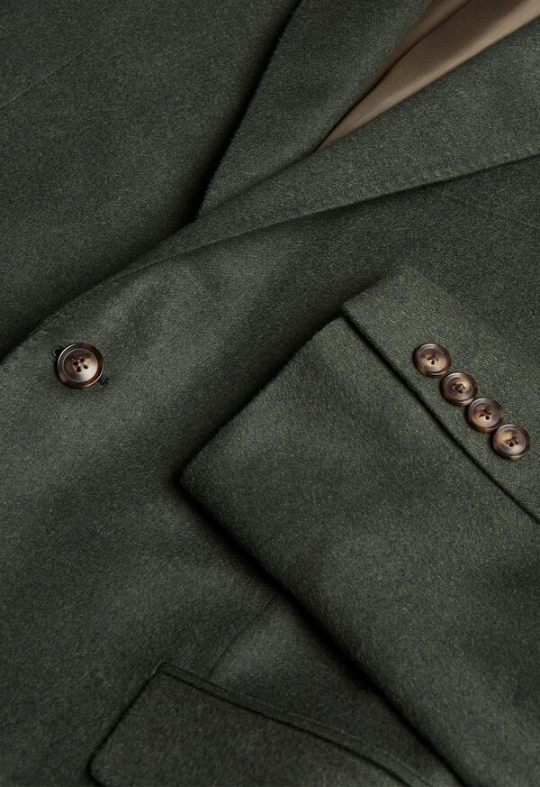 Wool Blend Solid Sport Jacket, image 2