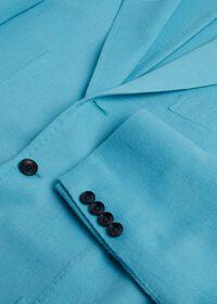 Light Blue Cashmere Soft Jacket, thumbnail 5