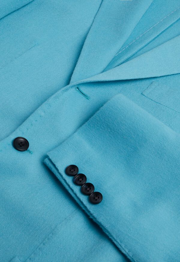 Light Blue Cashmere Soft Jacket, image 5
