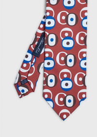 Printed Deco Circles Tie, thumbnail 1