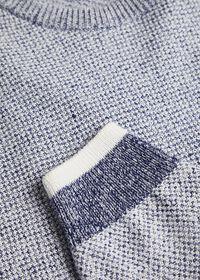 Marled Crew Neck Sweater, thumbnail 2
