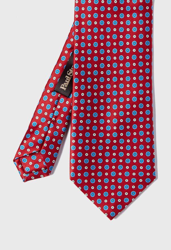 Silk Micro Medallion Tie, image 1
