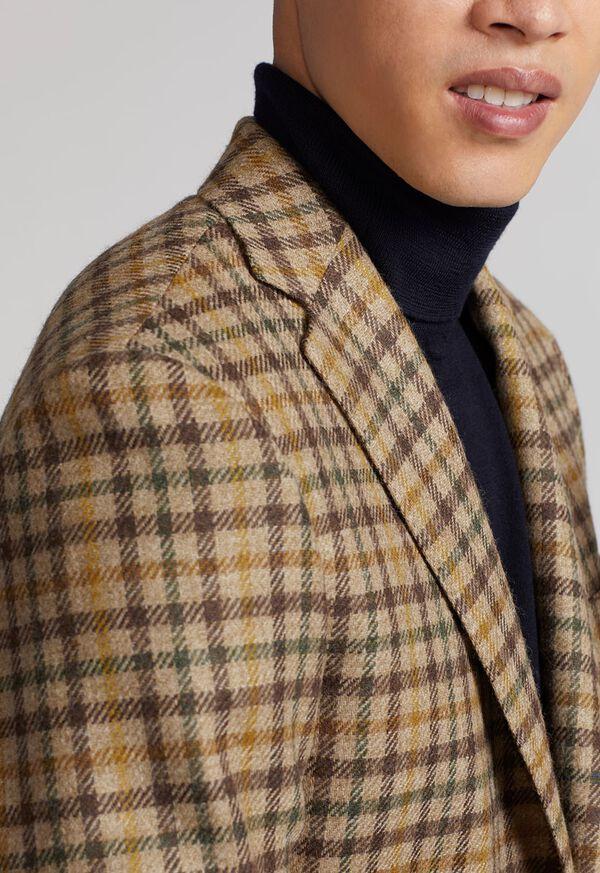 Paul Fit Wool Plaid Sport Jacket, image 4