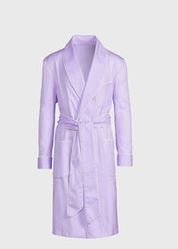 Cotton Herringbone Robe, thumbnail 1