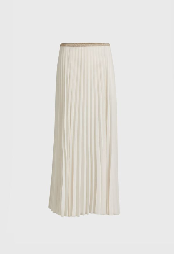 Long Pleated Skirt, image 1