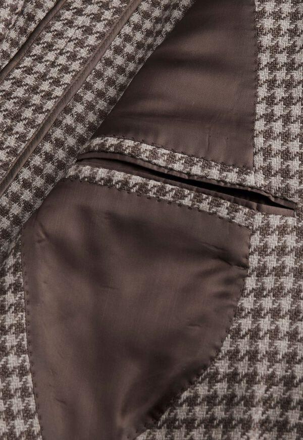 Taupe Houndstooth Sport Jacket, image 3