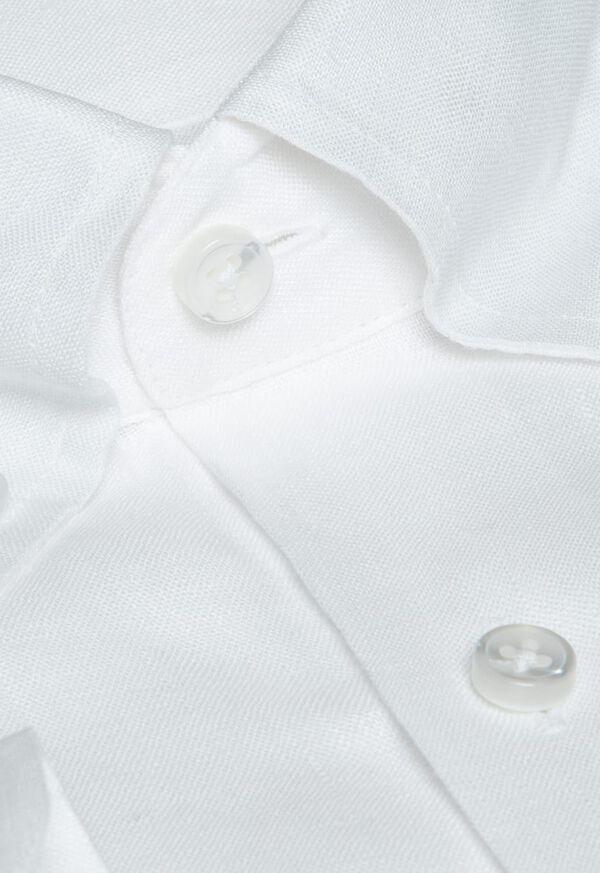 Linen End On End Sport Shirt, image 2