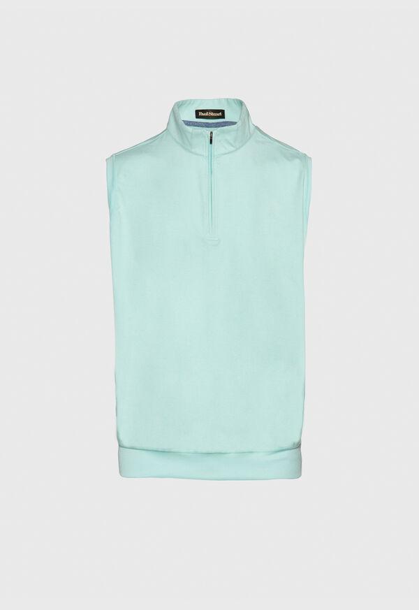 1/4 Zip Heathered Vest, image 1