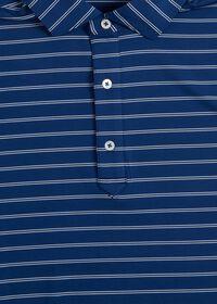 Double Stripe Performance Polo, thumbnail 2