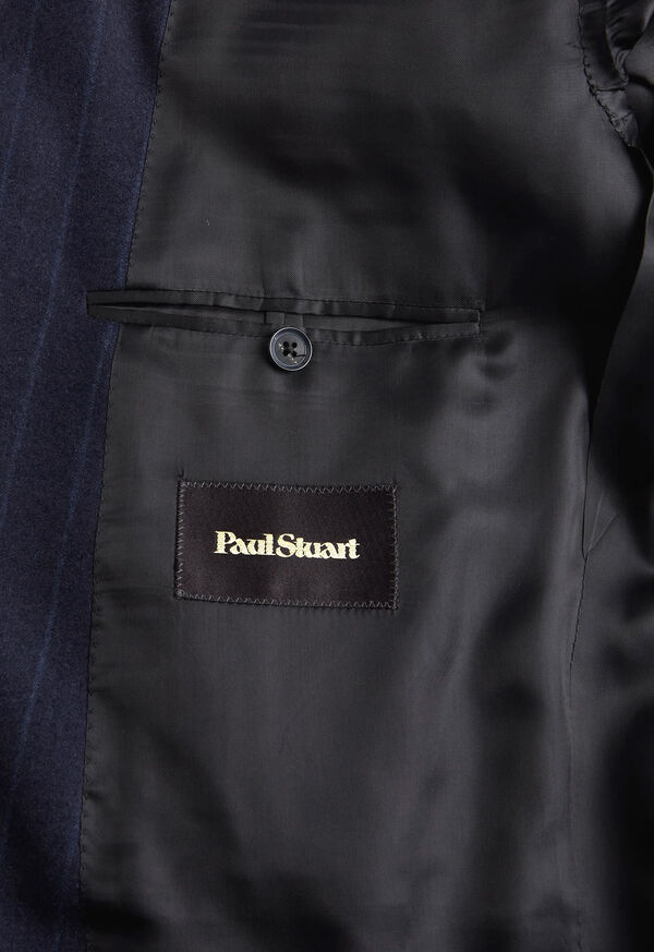 Tonal Blue Stripe Suit, image 4