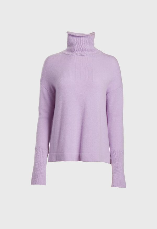Cashmere Turtleneck Sweater, image 1