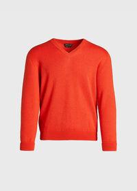 Cashmere V-Neck Sweater, thumbnail 1