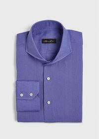 Washed Linen Sport Shirt, thumbnail 1