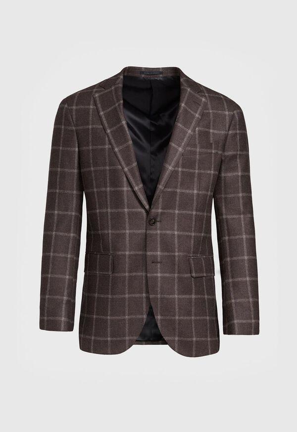 Wool Deco Windowpane Sport Jacket, image 1