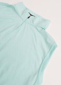 1/4 Zip Heathered Vest, thumbnail 2