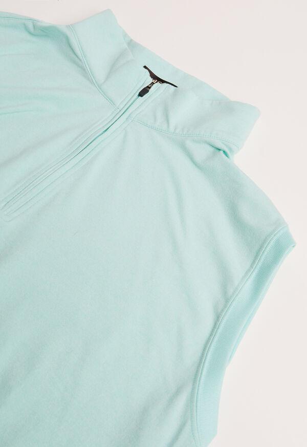 1/4 Zip Heathered Vest, image 2