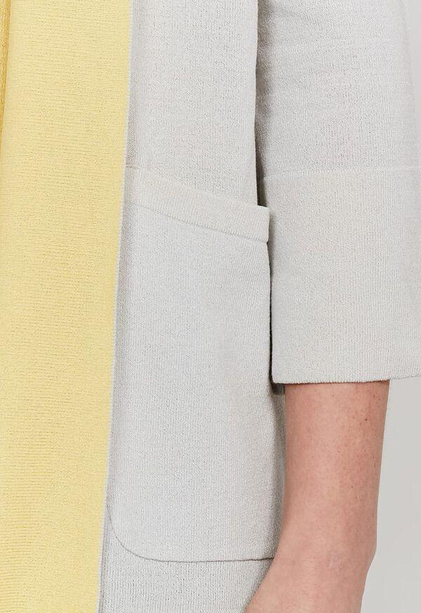 Contrast Color Cardigan, image 3